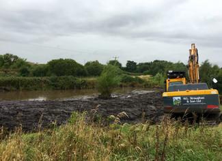 Flood Alleviation - Pond Clearance