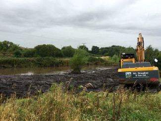 Flood Alleviation - Pond Clearance
