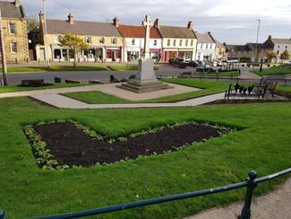 Bedlington Town Centre: War Memorial & Landscaping