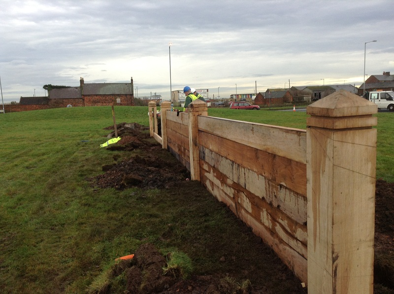 Timber Goyne Fence