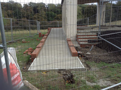 Concrete Instalation, Atlee Park.