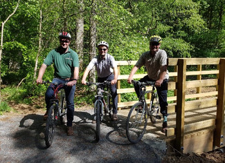 Wallington Hall Cycle Trail & Multi User Track- Complete.