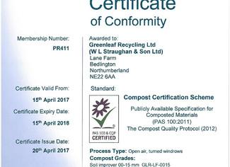 PAS 100 Certificate