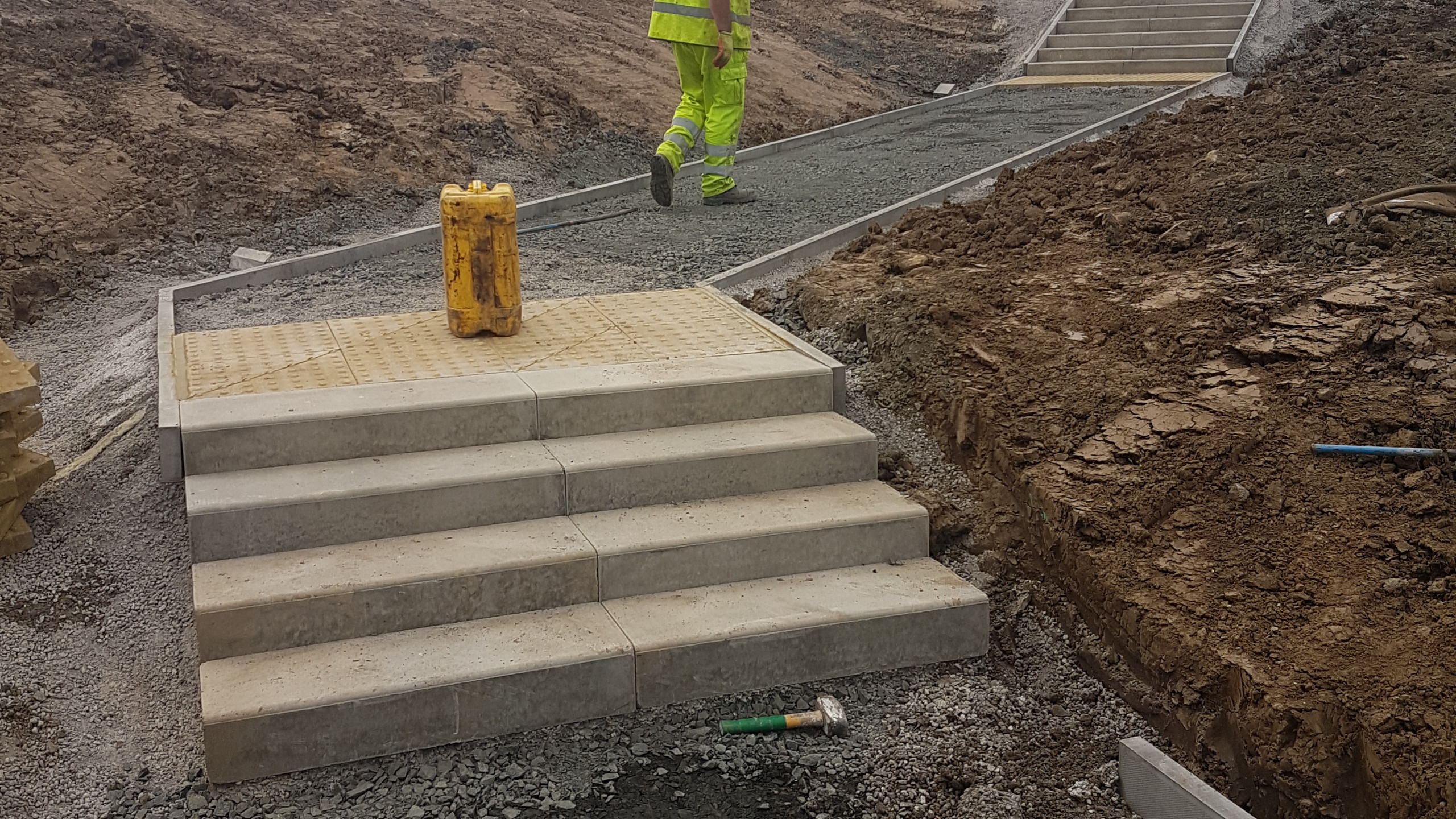 Step & Path Installation