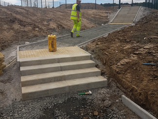 Groundworks - Steps & Paving