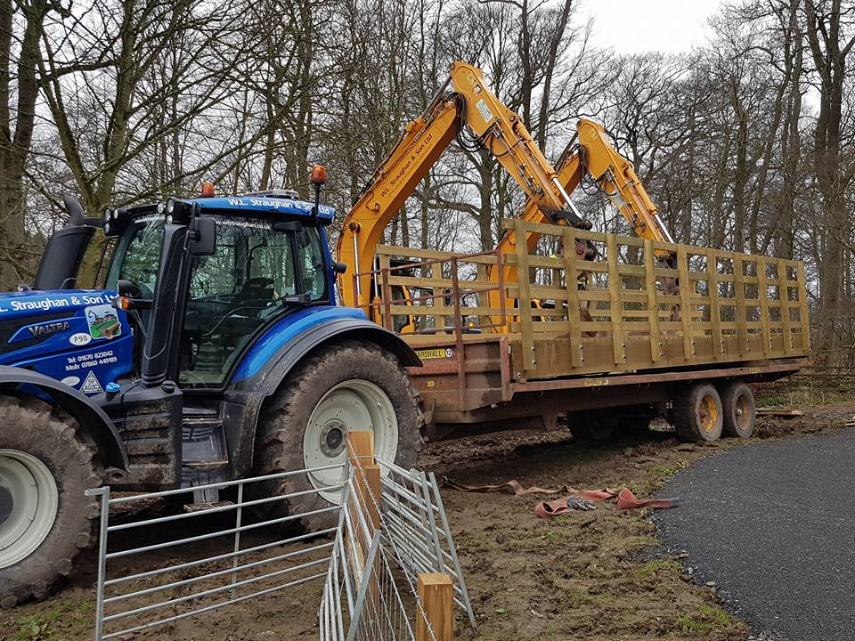 Bridge Installation Valtra