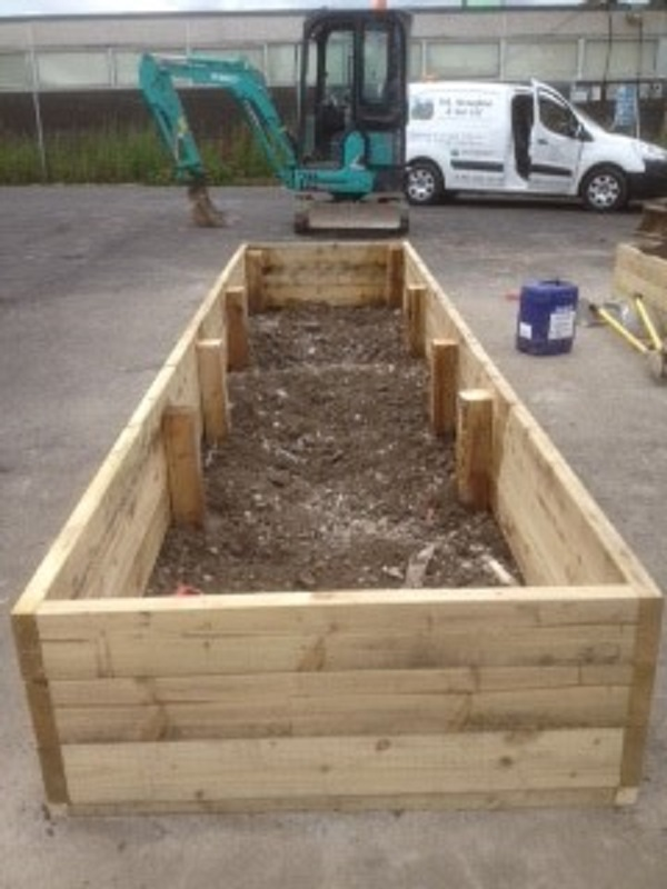 Creation of Raised Beds