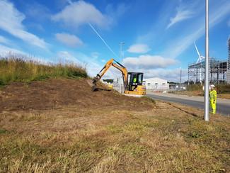 Biomass Entrance - Cramlington