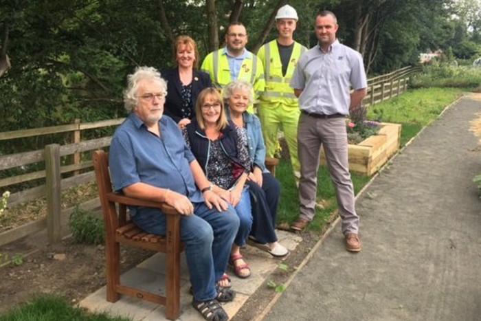 Morpeth Herald, community garden,