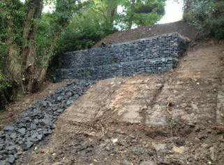 Northlands Landslip - Morpeth