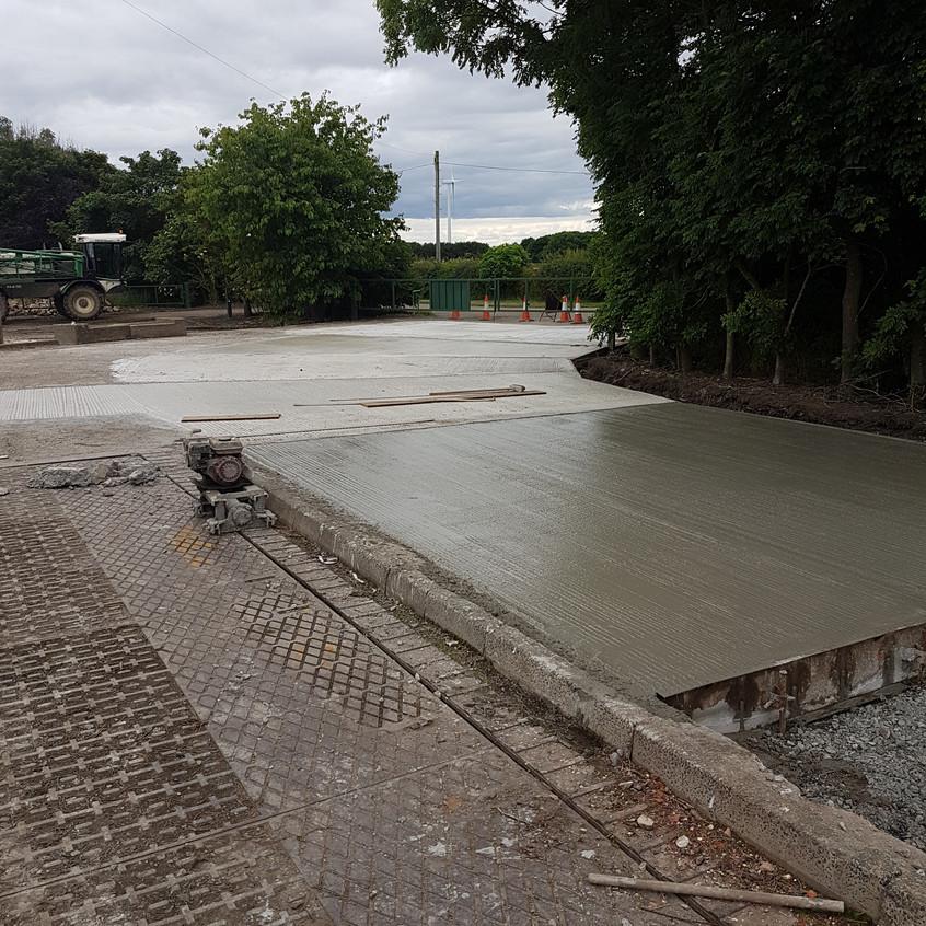 Concreting of Yard 2