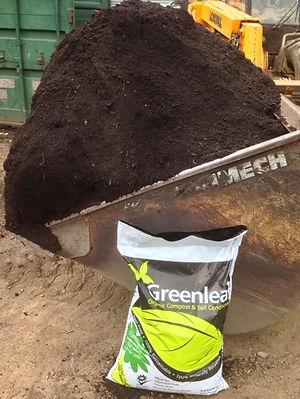 1 Loose Tonne Greenleaf Compost