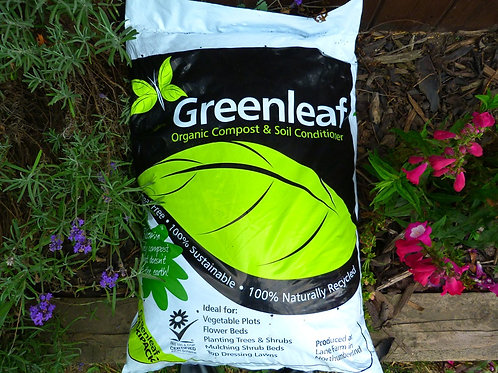 40L Bag Greenleaf Compost & Soil Conditioner