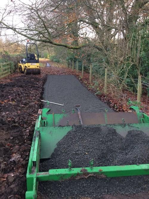 Path Construction. Bridleway