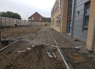 Groundworks - Footpaths