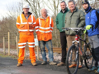 New Northumberland cycle path opens between Alnmouth & Alnwick!
