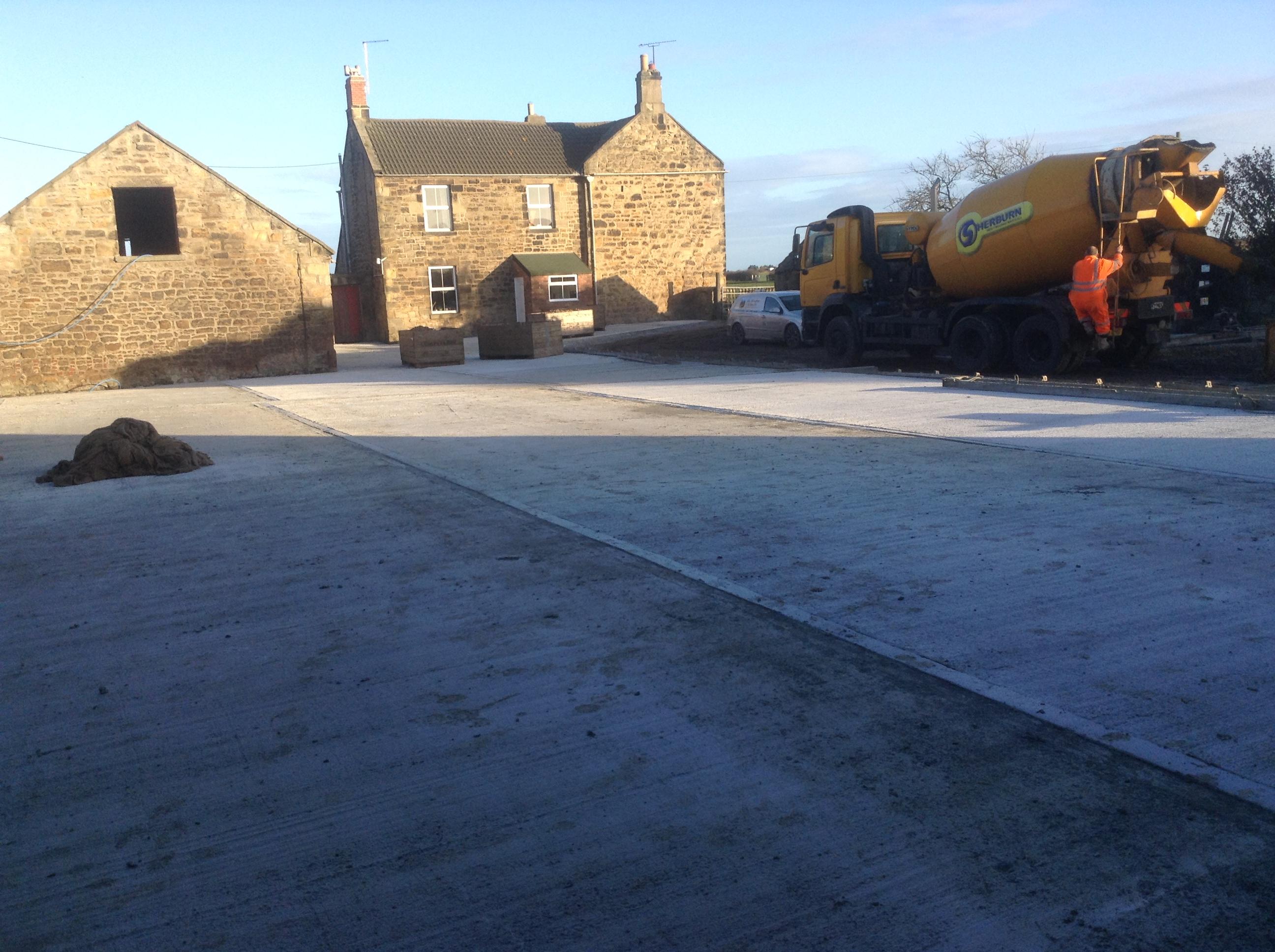 Concrete Instalation
