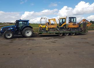 Plant Machines Off To Cumbria