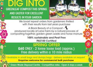 Greenleaf Recycling Spring Offer
