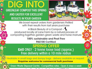 Greenleaf Recycling Spring Offer