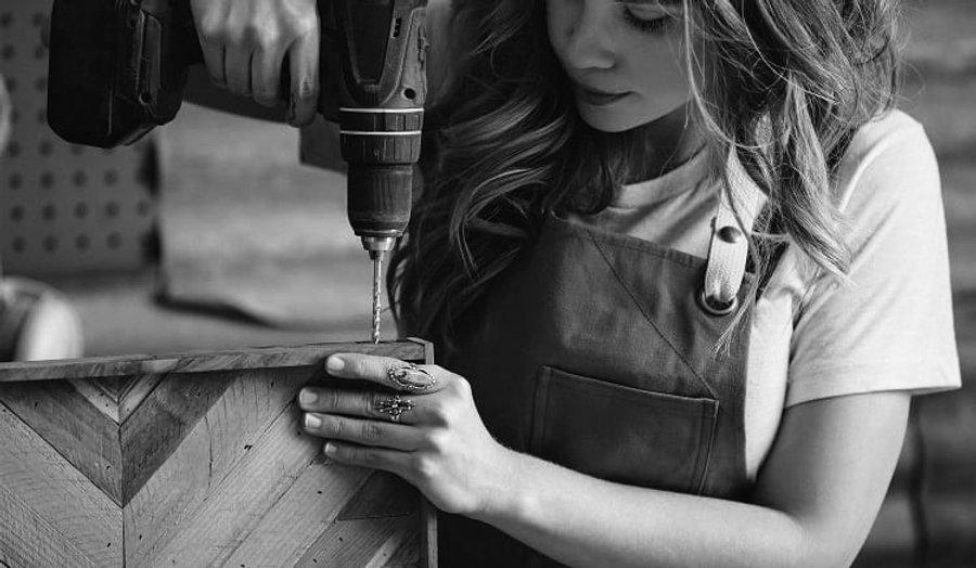 DIY Queen Girl Drilling