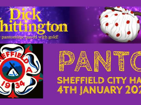 It's Panto time... oh yes it is!