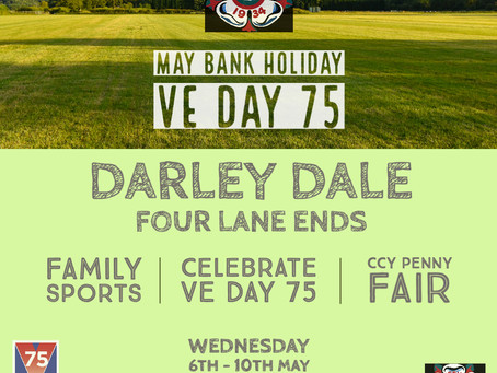 May Bank Holiday 2020: VE Day 75
