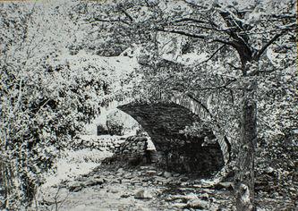 Aber Bridge, Llanddulas, Whit Week 1938.