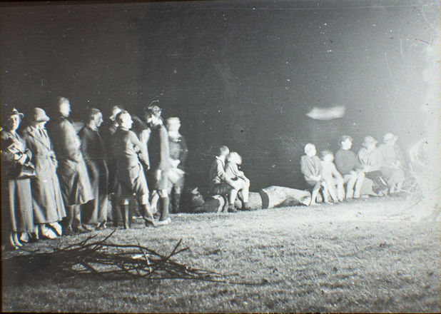 Camp Fire Youlgreave 1938