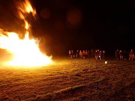 Spooky antics and pyromania