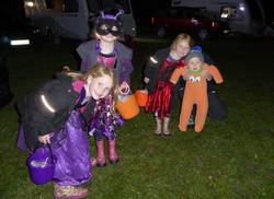 Spooky antics