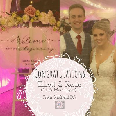 Elliott & Katie's special day