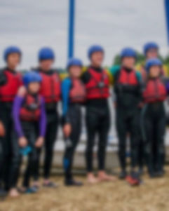 Background image of Sheffield DA CCY after Watersports at Carsington Water.