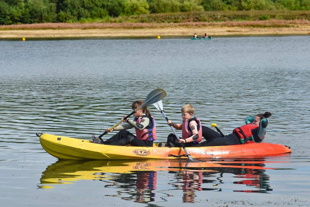 Carsington CCY water fun