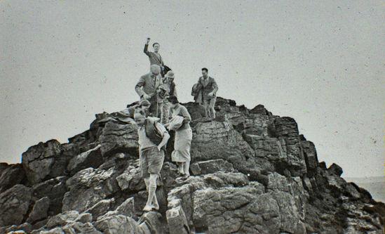 Summit of Win Hill, 1938