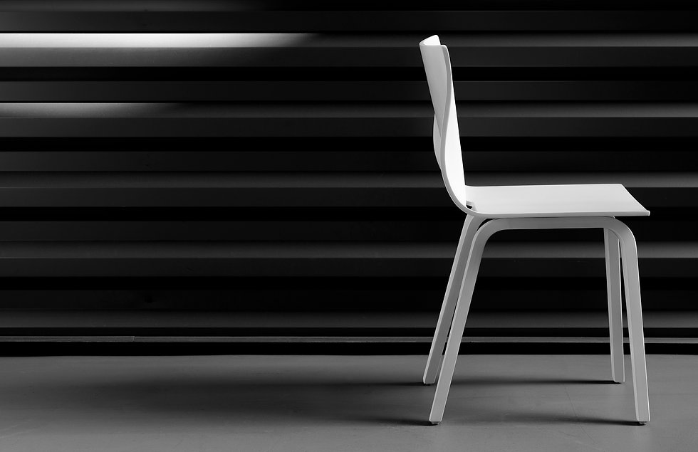 V Dining Chair- ergonomic and tested for commercal and residential spaces