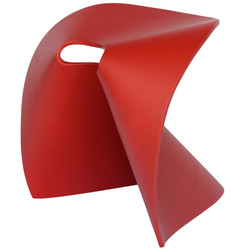 Fortune Stool in red