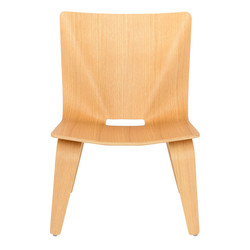 V Lounge Chair in oak