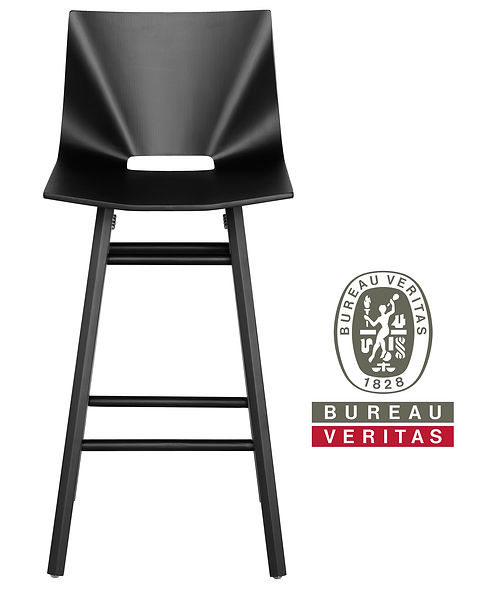 V Counter Stool- tested to withstand 100,000 cycles- way beyond a lifetime of use