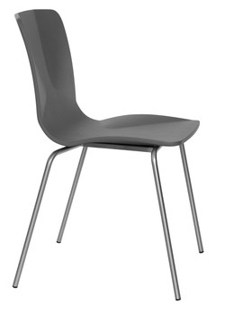 JC Stacking Chair in grey