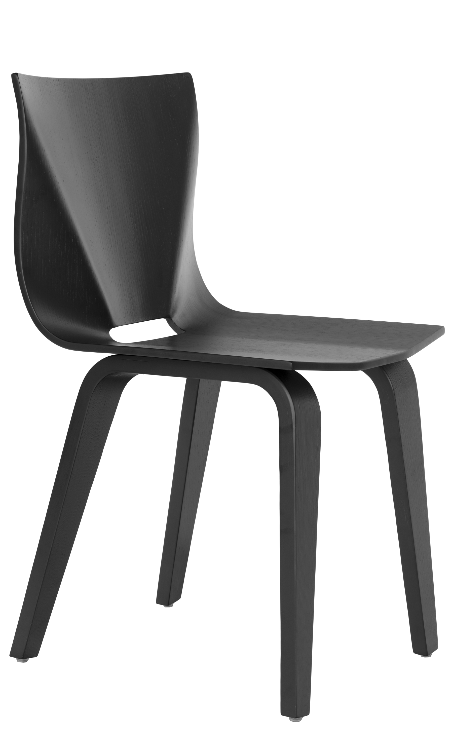 V Chair in black