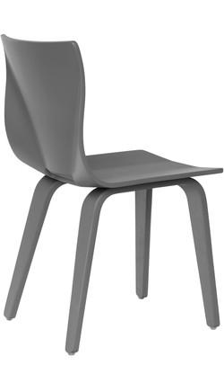 V Chair in grey
