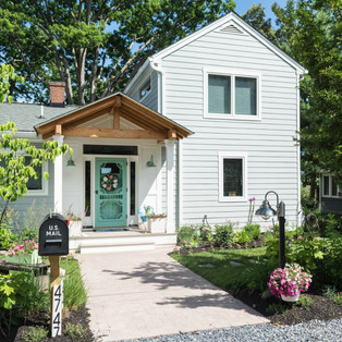 Exterior of Waterfront Beach Cottage