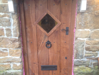 Bespoke Made Oak Door