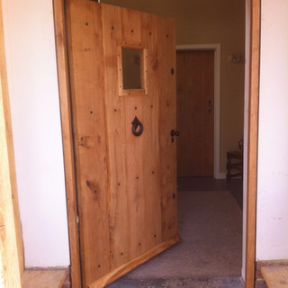 Bespoke Made Oak Door