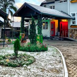 Neve no flame hotels em Canela-RS