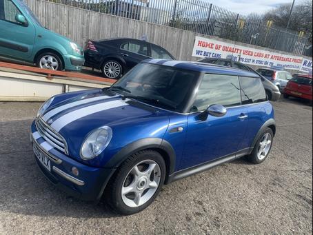 Mini Cooper 1.4 diesel £55