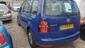 Volkswagen Touran 7 seater 1.9 Tdi £75 per week