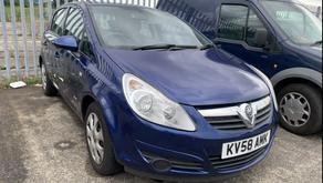 Vauxhall Corsa 1.3 diesel £50 per week