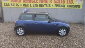 Mini Cooper 1.6 3dr £1495